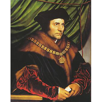 Hans yngre - Sir Thomas More plakat ut Giclee