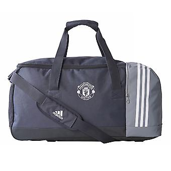2017-2018 man Utd Adidas Team Bag (nacht grijs)