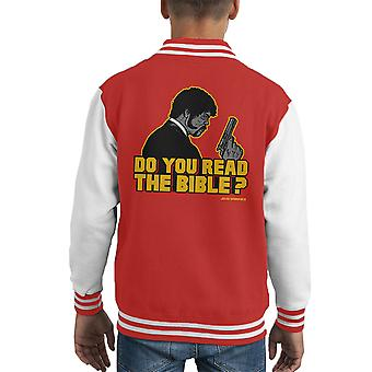 Shepherd Jules Winnfield Pulp Fiction Kid's Varsity jacka