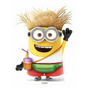 Vacation Minion Despicable Me 3 Mini Cardboard Cutout / Standee / Stand up