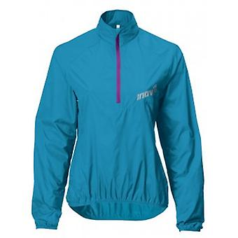 Race Elite 60 Windshell Running Smock Turquoise/Purple Womens