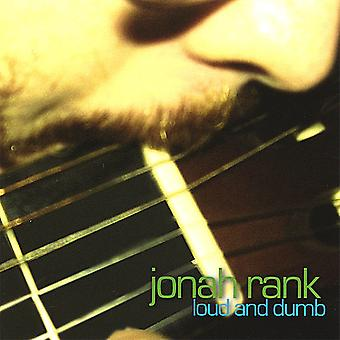 Jonah Rank - Loud & Dumb [CD] USA import