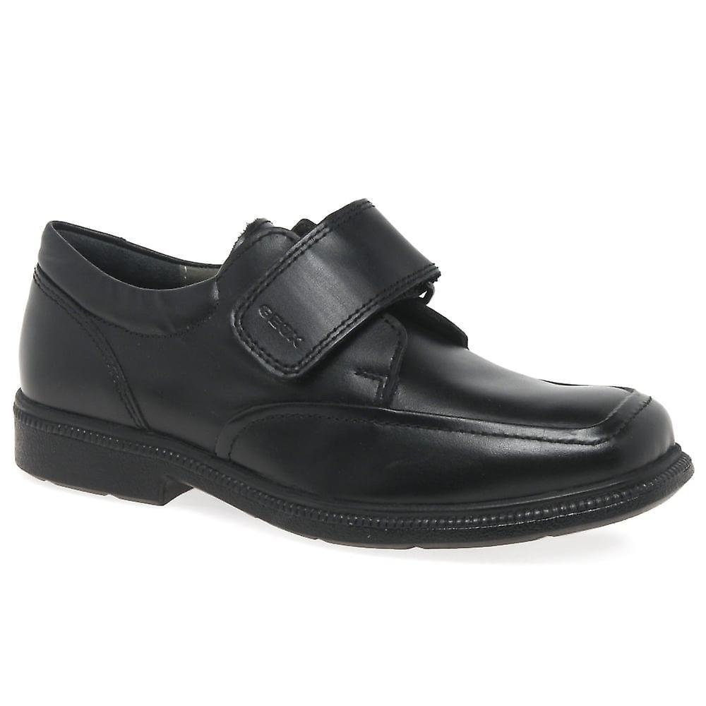 Geox School Junior Federico Velcro Boys School Geox Shoes 8b8a44