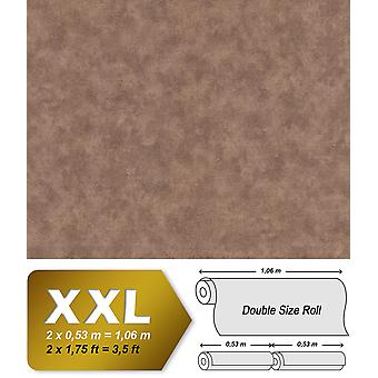 Uni wallpaper EDEM 9031-16 non-woven wallpaper shaped spatula appearance shimmering Brown 10.65 m2