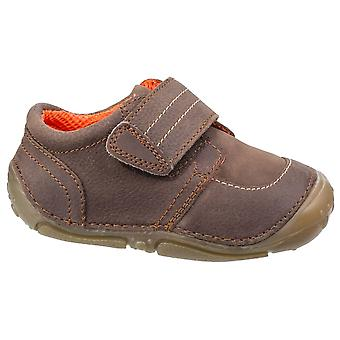 Hush Puppies ragazzi Leo pre-walkers marrone F Raccordo