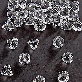 Tabel diamond bordpynt 20 x 20 mm Diamond konfetti