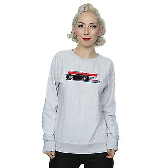 Disney Women's Cars Jackson Storm Stripes Sweatshirt