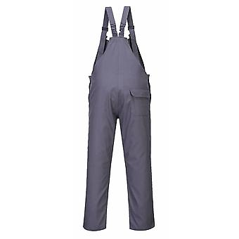 Portwest - Bizflame Pro Flame Resistant Safety Workwear Bib & Brace Dungarees