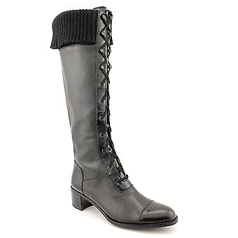 Ellen Tracy Element Knee-High Lace Up Military Boots