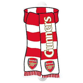 Arsenal FC Official Football Show Your Colours Window Sign