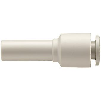 SMC KQ2 Pneumatic Straight Tube-to-Tube Adapter, Plug In 6 mm
