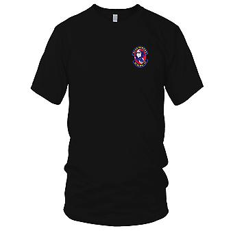 US Army - 2nd Battalion 3rd Field Artillery Regiment Embroidered Patch - Mens T Shirt