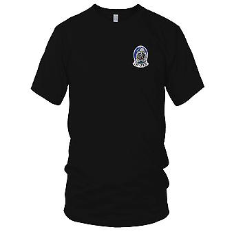 US Navy VF-733 Embroidered Patch - Black Cats Mens T Shirt