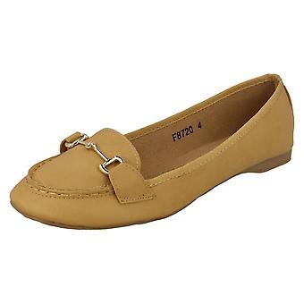 Lugar de damas en zapatos planos F8720