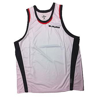 X Blades Rugby Training Singlet [white/red]