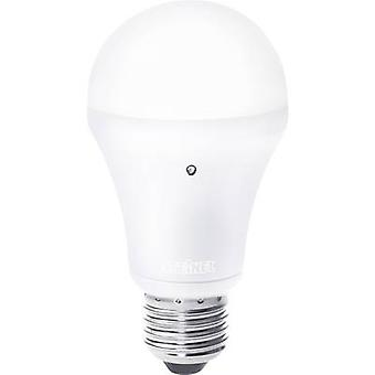 LED E27 Arbitrary 8.5 W = 54 W Warm white (Ø x L) 60 mm x 117 mm EEC: A Steinel incl. light sensor 1 pc(s)