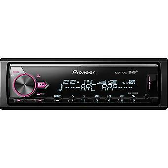 Car stereo Pioneer MVH-X580DAB DAB+ tuner, Steering wheel RC button connector,