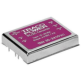 TracoPower TEN 30-4823WI DC/DC converter (print) 48 Vdc 15 Vdc, -15 Vdc 1 A 30 W No. of outputs: 2 x