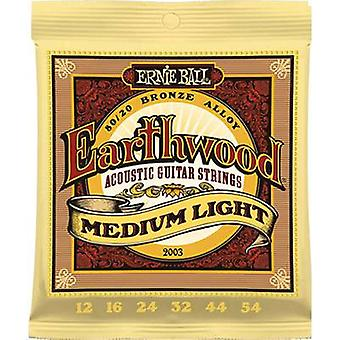 Steel string (acoustic guitar) Ernie Ball EB2003 Medium Light 012-054