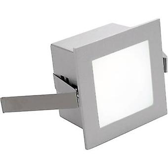 SLV Frame Basic 113262 LED recessed light 1 W Warm white White (matt)