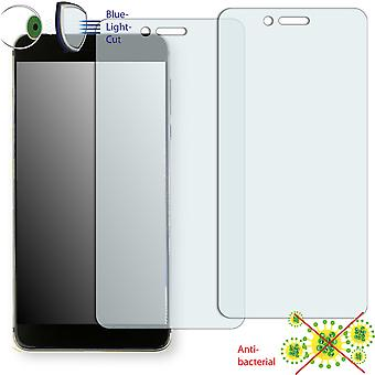 Vernee Mars Pro display protector - Disagu ClearScreen protector (deliberately smaller than the display, as this is arched)