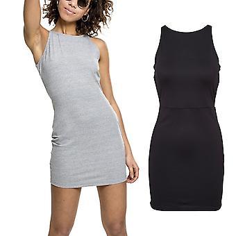 السيدات الكلاسيكية الحضرية--خفضت الصيف فستان ميني