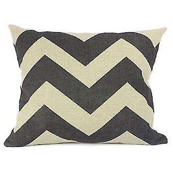 Wellindal Cotton Cushion Cover Ziga (Decoration , Textile , Cushions , Cushions)