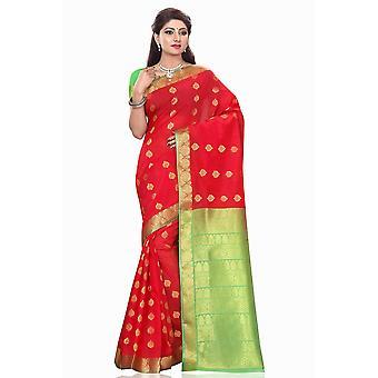 Smriti rojo arte seda Sari sari Bellydance abrigo