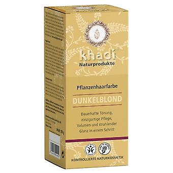 Khadi Herbal Color Rubio Oscuro/Ceniza 100 gr (Hair care , Dyes)