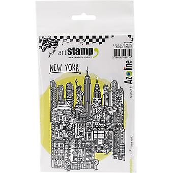 Carabelle Studio Cling Stamp A6-New York