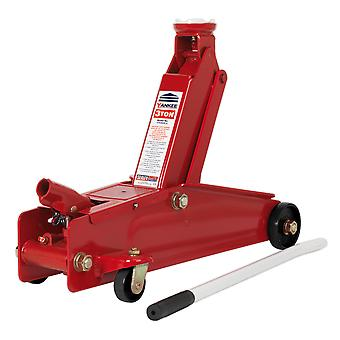 Sealey 1153Cx Trolley Jack 3Tonne lang Chassis tunge