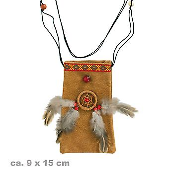 Medicine bag 9x15cm shaman Indian doctor accessory