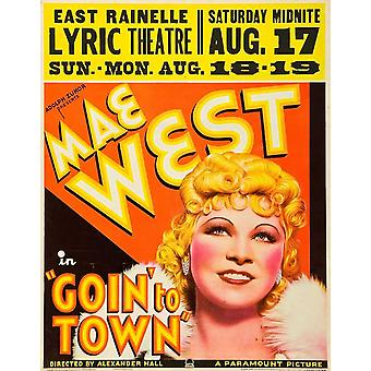 Goin to Town Movie Poster (11 x 17)