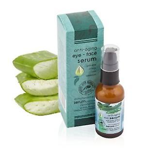 Anti-aldring eye serum med Aloe Vera og Aladania 30 ml.