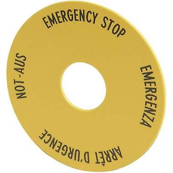 Eaton 216465 M22-XAK1 Emergency Off Shield