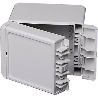 Bopla Bocube B 100809 PC-V0-7035 Wall-mount enclosure, Build-in casing 80 x 113 x 90 Polycarbonate (PC) Light grey (RAL 7035) 1 pc(s)