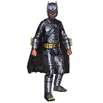 Batman V Superman Armored Deluxe Muscle Chest Superhero Boys Costume