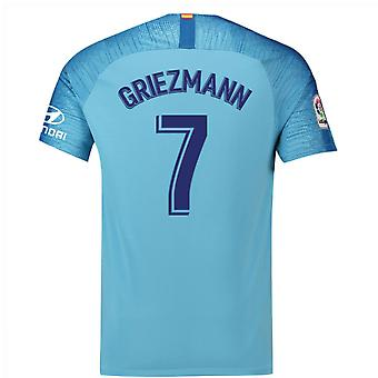 2018-19 Atletico Madrid Away Football Shirt (Griezmann 7) - Kids