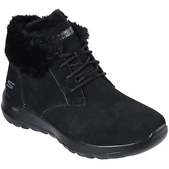 Skechers Womens Go Walk Joy Soft Suede Casual Ankle Boots