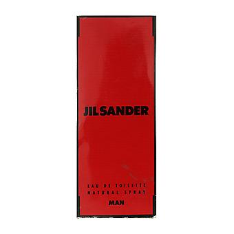 Jil Sander MAN Eau De Toilette Spray 3.4Oz/100ml In Box