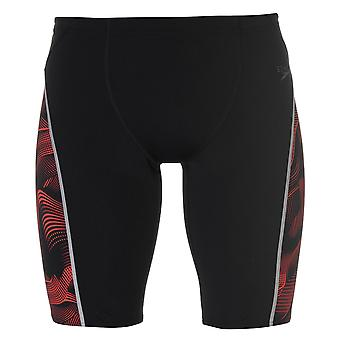 Speedo Mens Graphic Jammers Trunks Shorts Stretch Chlorine Resistant Drawstring