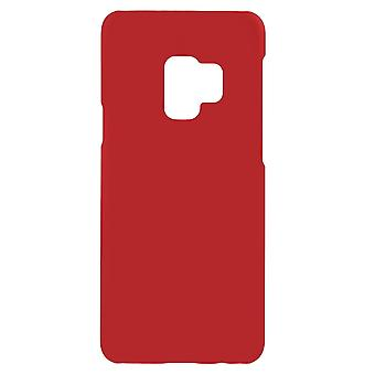 Samsung Galaxy S9 Skins in harten Kunststoff-rot
