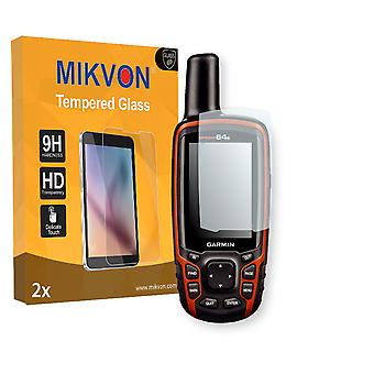 Garmin GPSMAP 64s Screen Protector - Mikvon flexible Tempered Glass 9H (Retail Package with accessories)