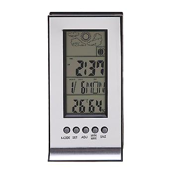 Thermometer Hygrometer weather station Wireless humidity and temperature Monitor with alarm clock