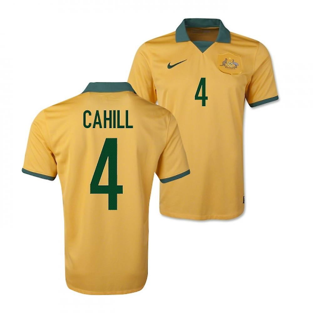2014-15 Australië World Cup Home Shirt (Cahill 4)