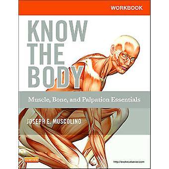 Libro para conocer el cuerpo - músculo - hueso - y la palpación Essentials