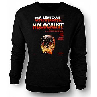 Mens Sweatshirt Cannibal Holocaust - Horror - Poster
