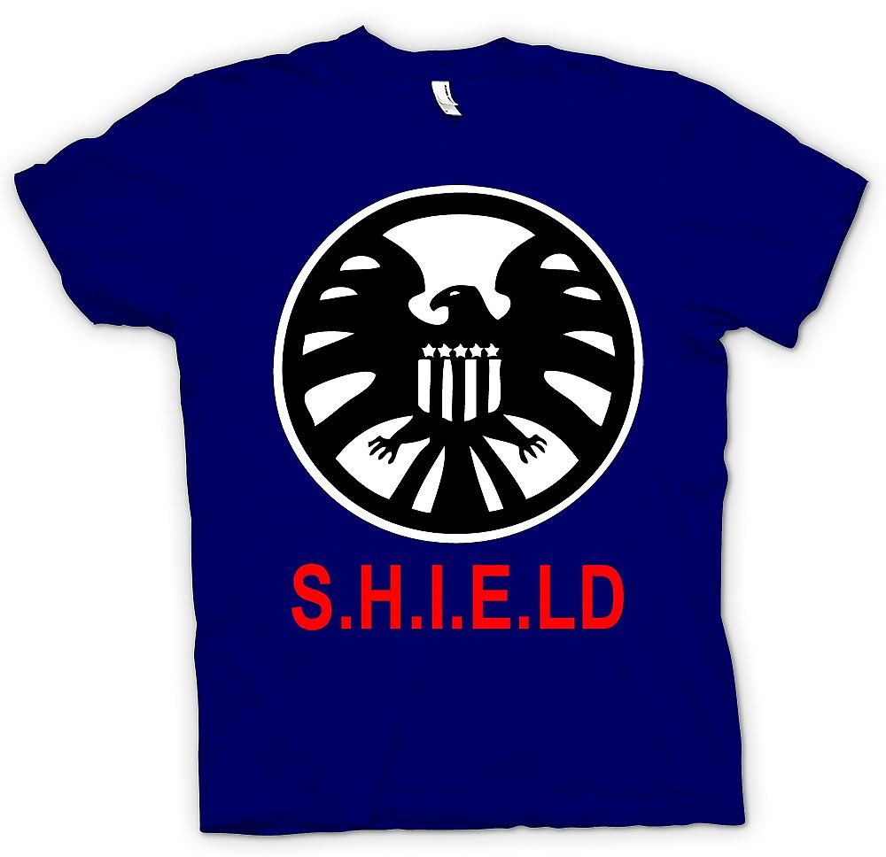 Hommes T-shirt - Shield Avengers Logo