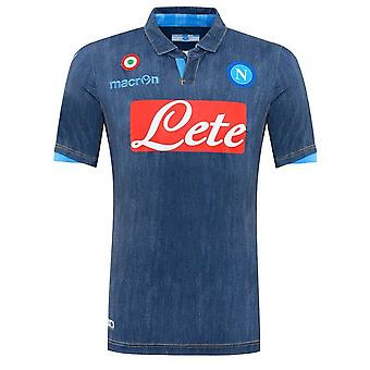 2014-2015 Napoli Authentic Away Match Shirt