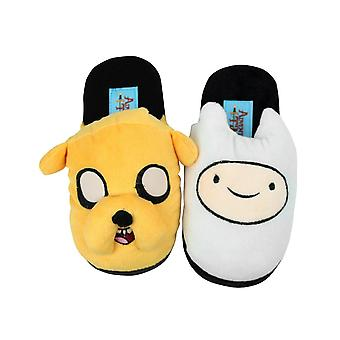 Adventure Time Official Childrens/Kids Finn And Jake Slippers